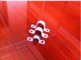 Customized u shape 201 304 316 decorative stainless steel pipe clamp